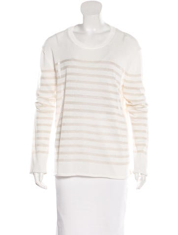 Tory Burch Stripe Knit Sweater None