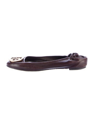 Tory Burch Reva Ballet Flats None