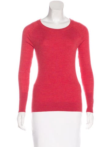 Tory Burch Wool Embroidered Top None