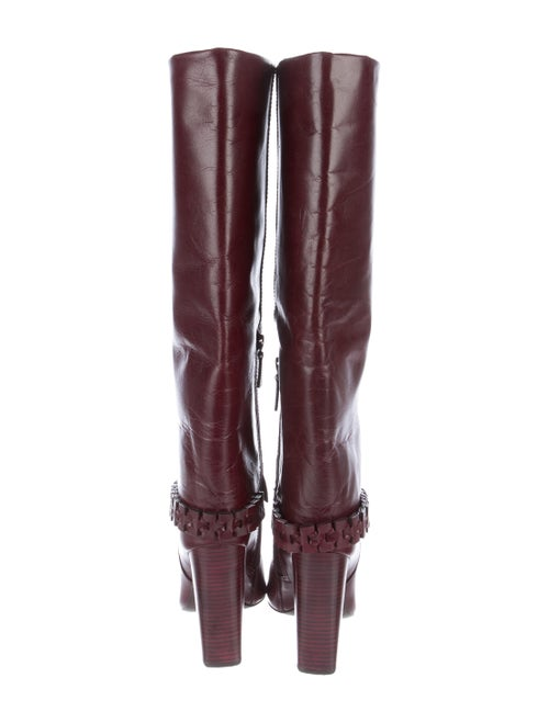 32943be9375 Tory Burch Sarava Leather Boots - Shoes - WTO95934