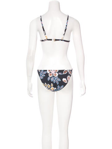 tory burch abstract print two piece swim suit w tags   clothing   wto95965 the realreal