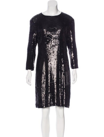 Tory Burch Sequined Shift Dress w/ Tags - Clothing - WTO96111 ...