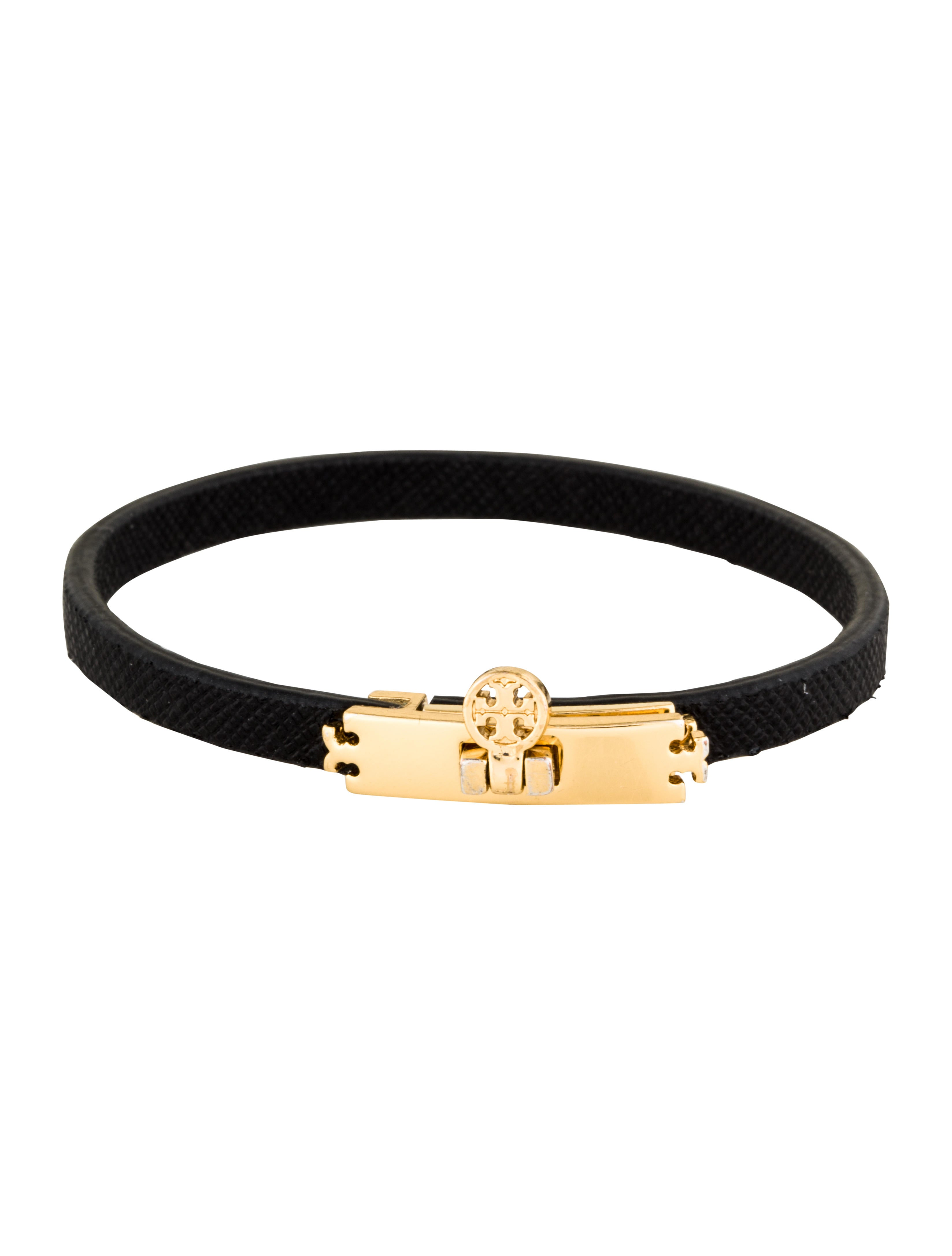 Turnlock Leather Wrap Bracelet