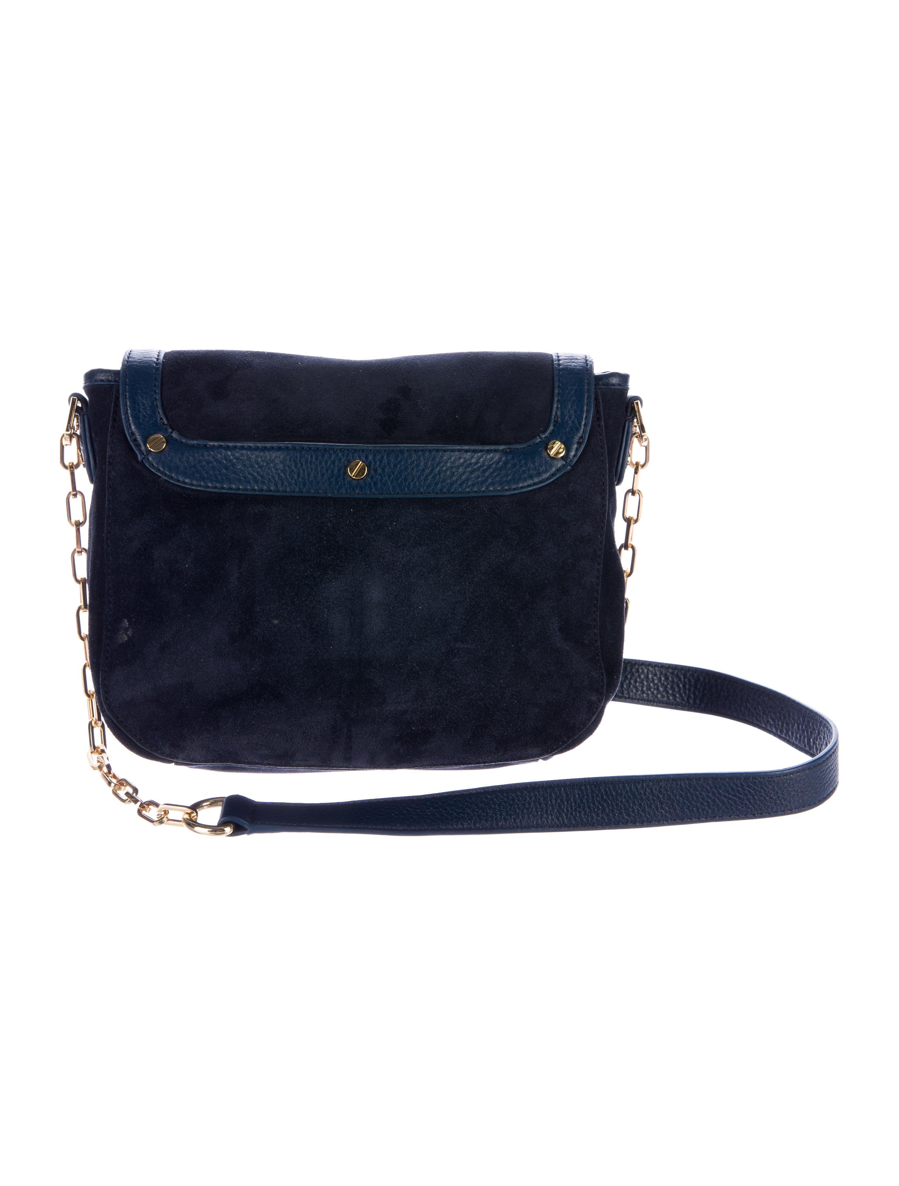 Tory Burch Amanda Suede Crossbody Bag Handbags