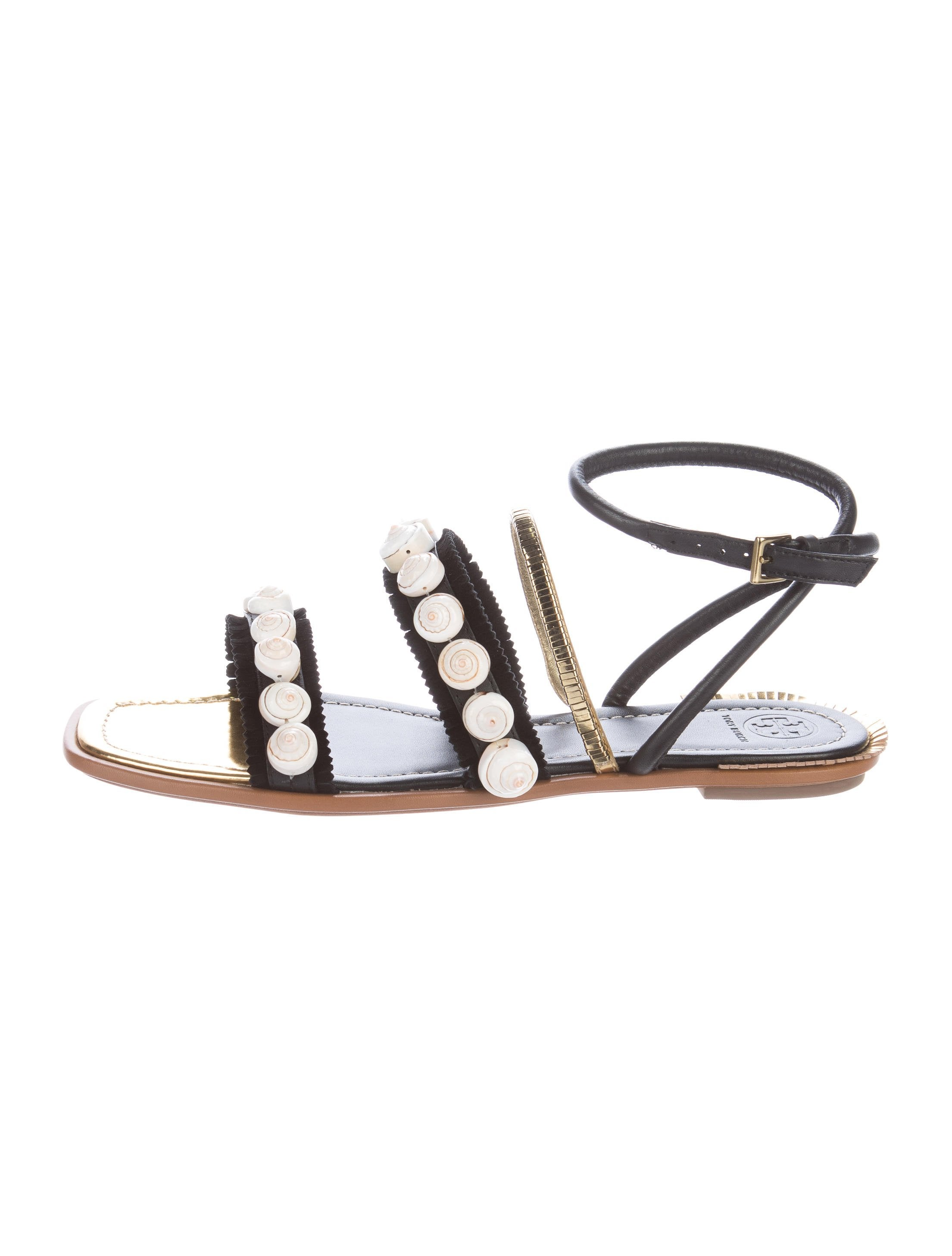 cost cheap price clearance with paypal Tory Burch Sinclair Embellished Sandals w/ Tags low price sale online sast cheap price lowest price for sale dnO3uaUoD