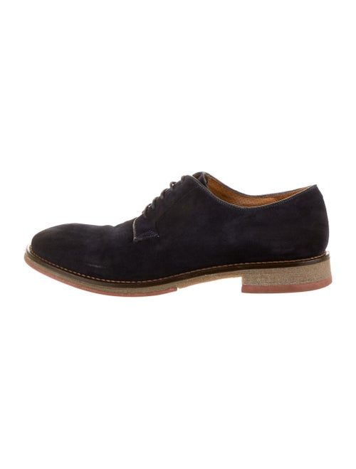 To Boot Suede Derby Shoes Blue