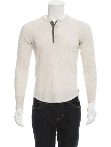 Todd Snyder Knit Henley Sweater None