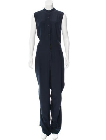 Tome Sleeveless Silk Jumpsuit w/ Tags None