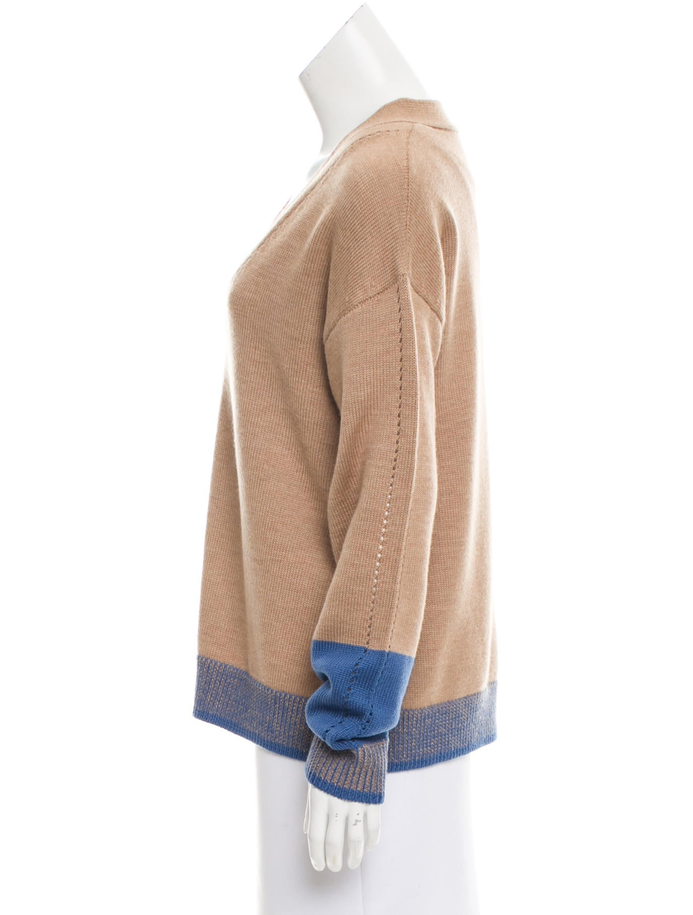 tome colorblock merino wool sweater clothing