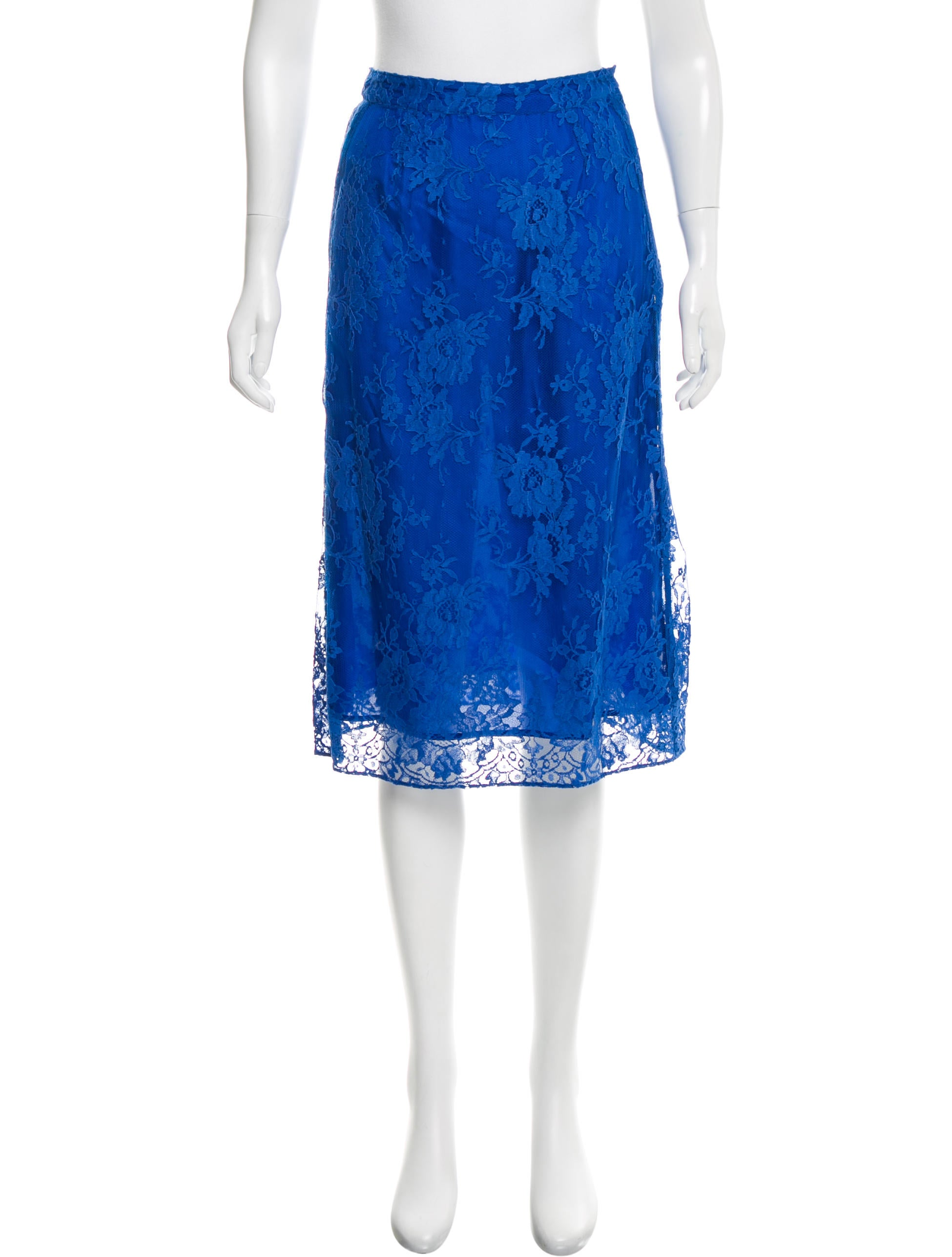 tome lace knee length skirt w tags clothing