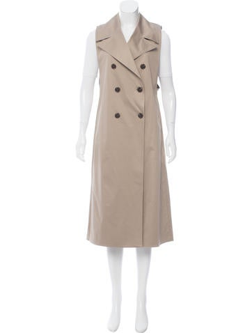 Tome Sleeveless Trench Coat w/ Tags None
