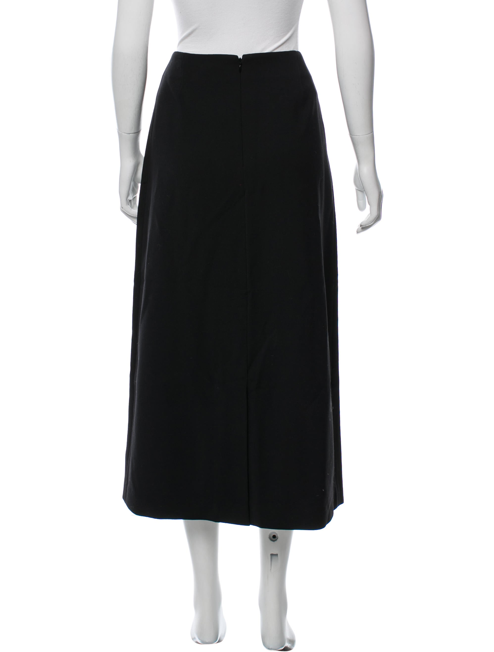 tome wool midi skirt w tags clothing wtome21685 the
