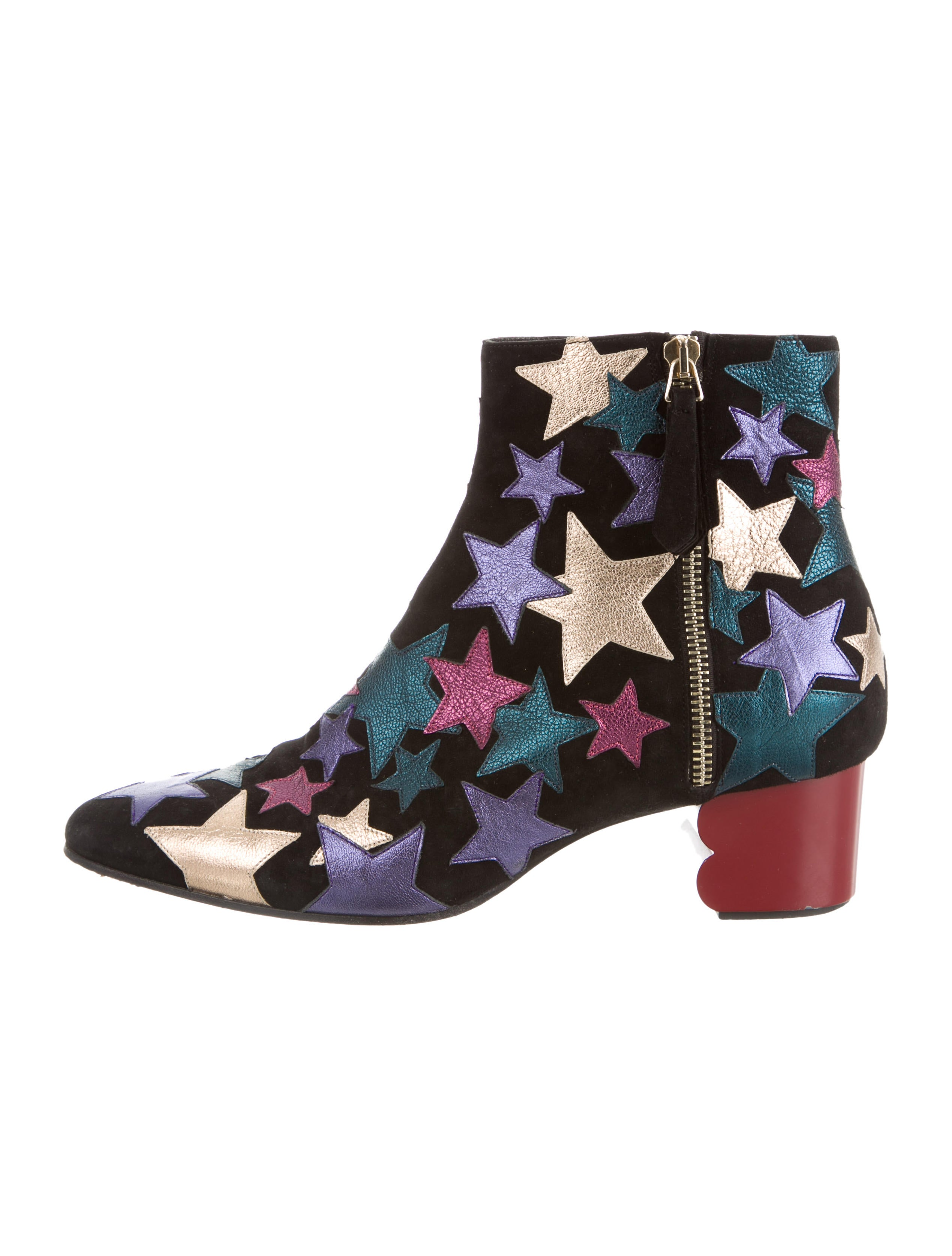 c72d12d335d5 Tommy Hilfiger Collection Metallic Star Ankle Boots - Shoes ...