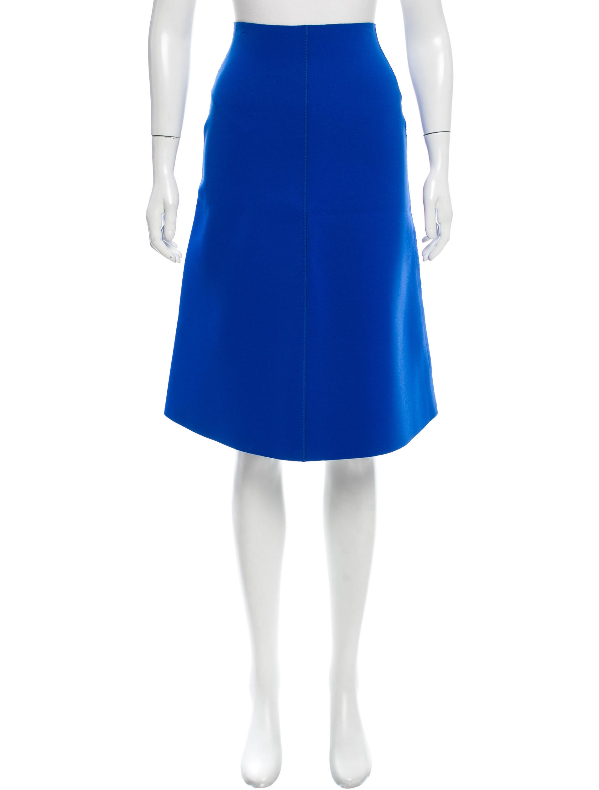 sport knee length a line skirt clothing