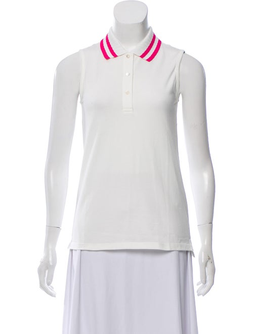 Tory Sport Sleeveless Polo w/ Tags White
