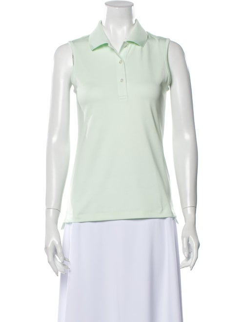 Tory Sport Sleeveless Polo w/ Tags Green