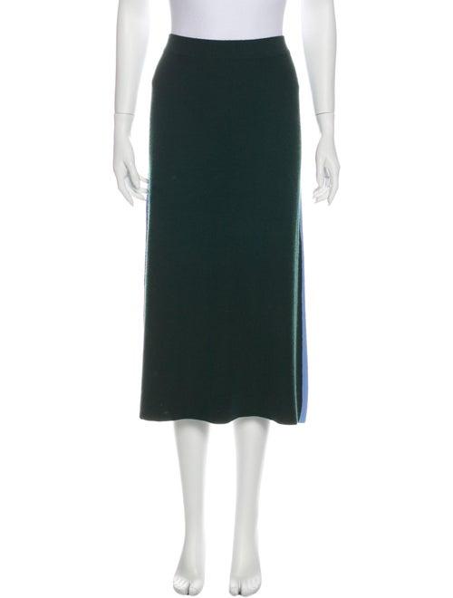 Tory Sport Midi Length Skirt Green