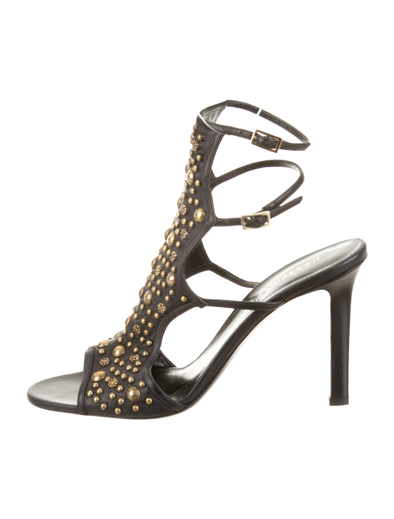 free shipping 2014 newest buy cheap price Tamara Mellon Stud Embellished Sandals clearance many kinds of amazing price WTkSBE