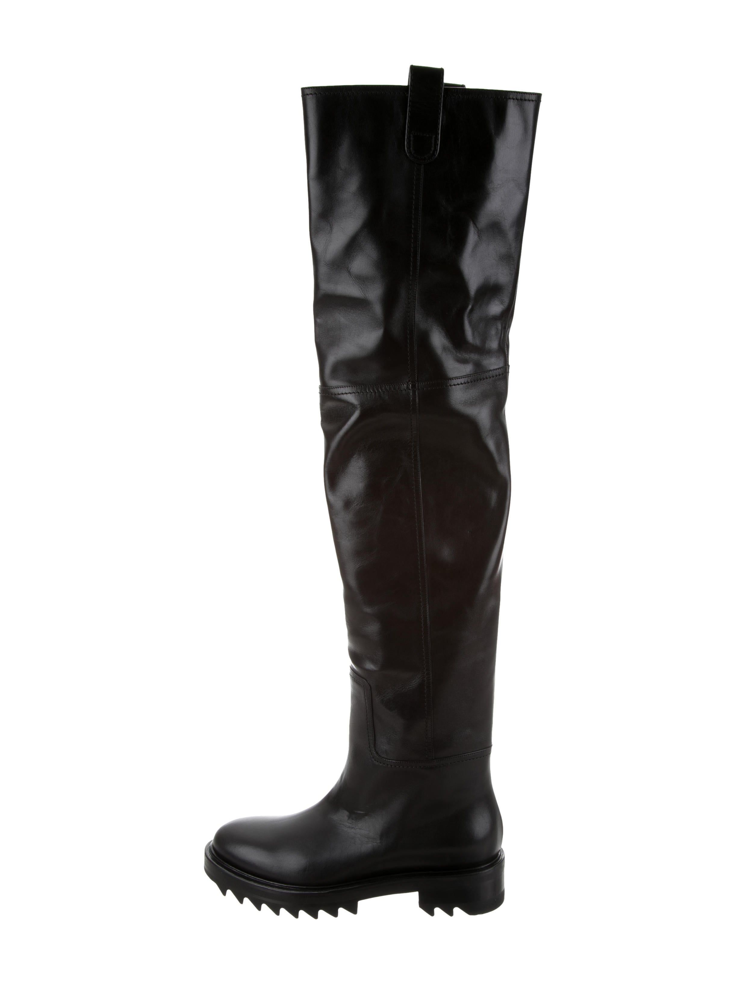 Tamara Mellon Leather Over-The-Knee Boots w/ Tags for nice cheap online buy cheap great deals BkzPgFDWx4