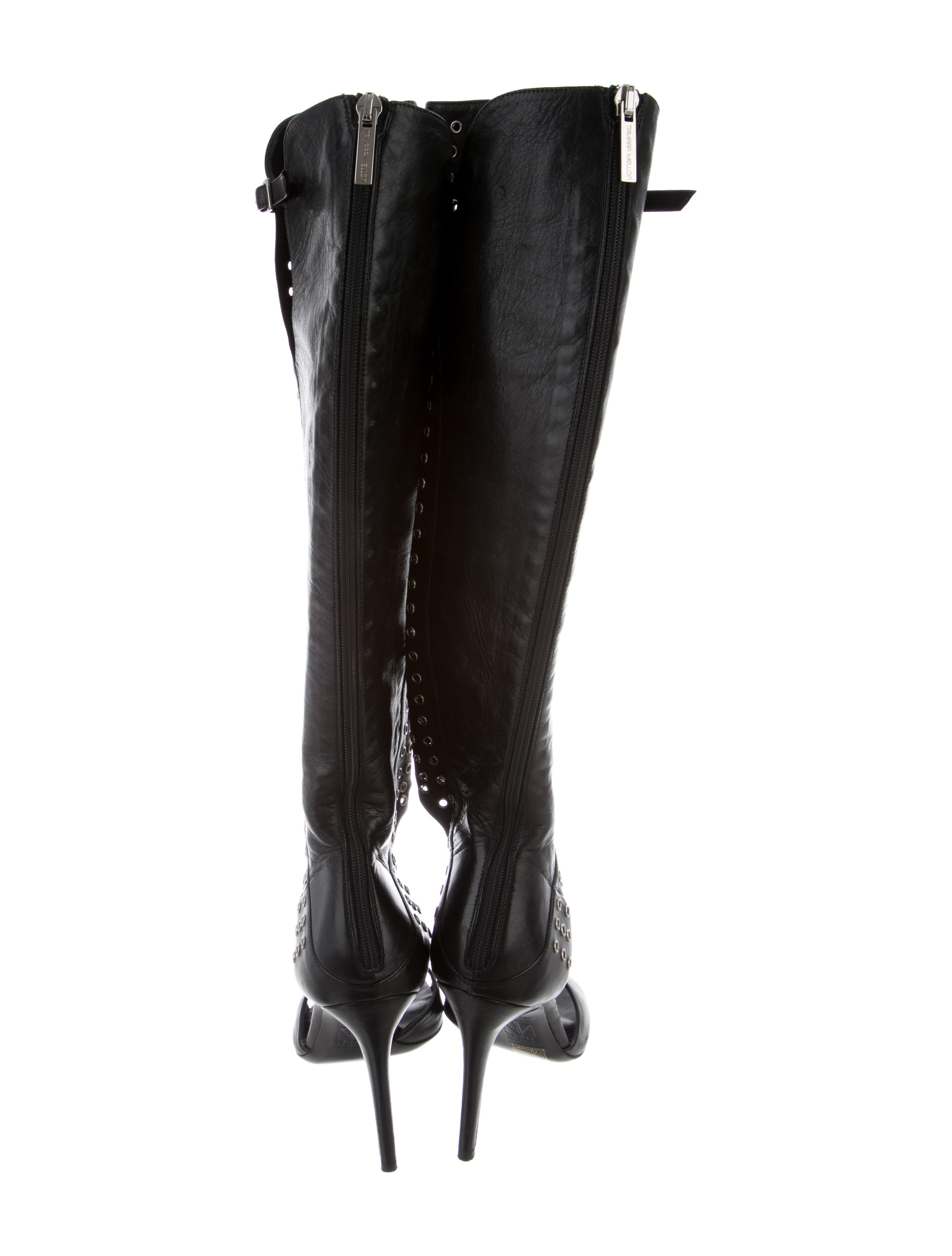 Tamara Mellon Grommet-Embellished Knee-High Sandals very cheap sale online marketable for sale real online high quality sale online qcbH4