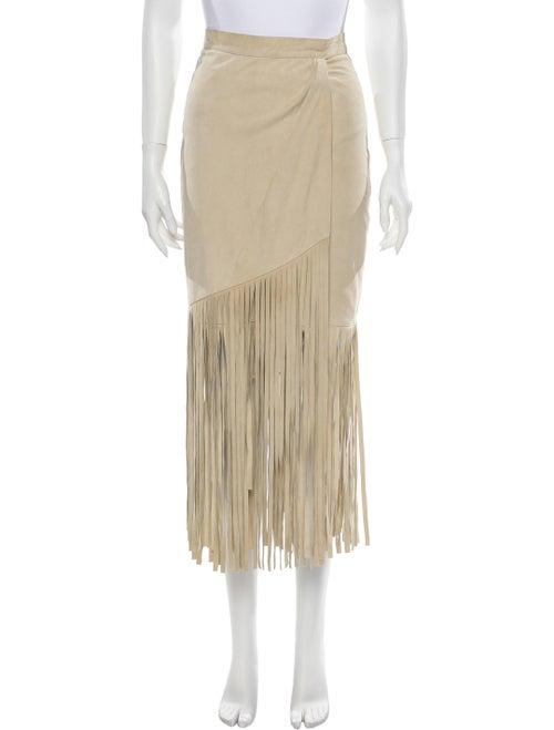 Tamara Mellon Suede Mini Skirt