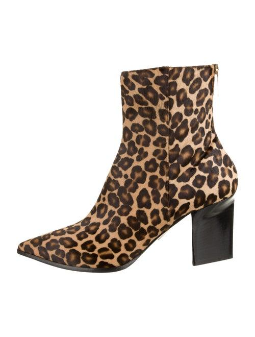 Tamara Mellon Hustler Animal Print Boots