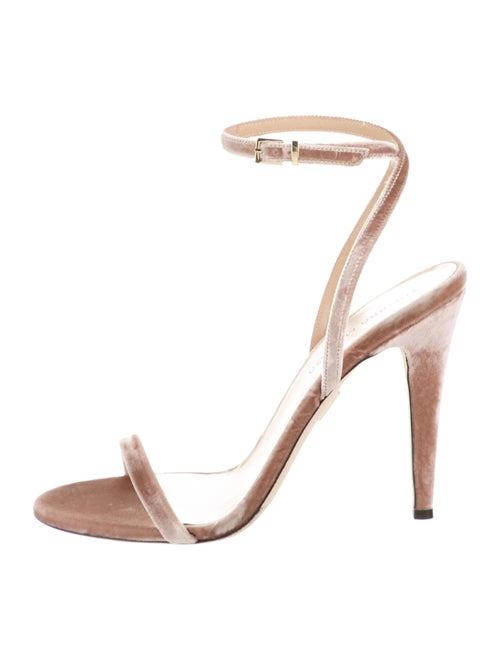 Tamara Mellon Reveal Velvet Sandals