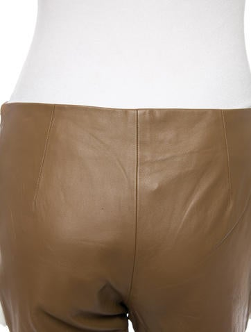 Leather Shorts w/ Tags