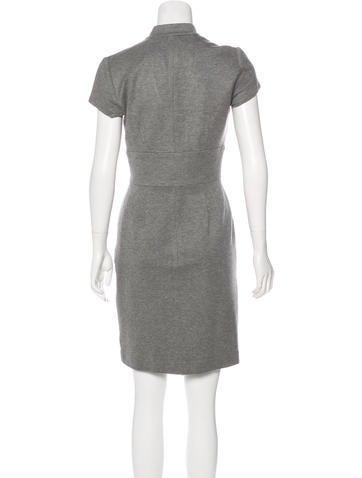 Short Sleeve Knee-Length Dress