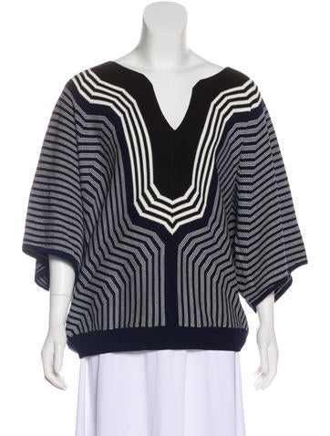 Trina Turk Striped Sweater w/ Tags None