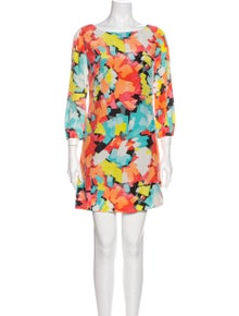 Trina Turk Silk Mini Dress
