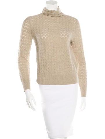 TSE Cashmere Turtleneck Sweater None