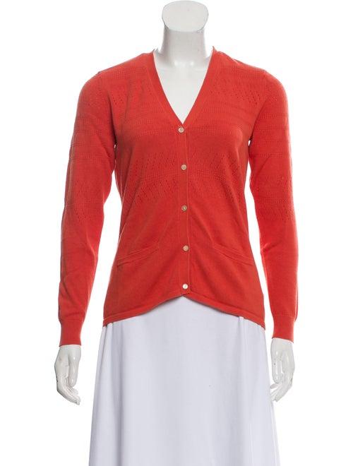 TSE Lightweight Embroidered Cardigan