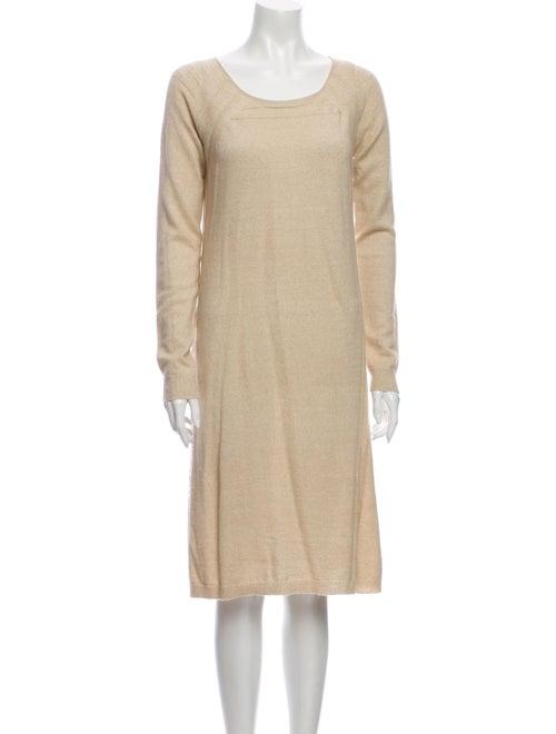 TSE Linen Knee-Length Dress