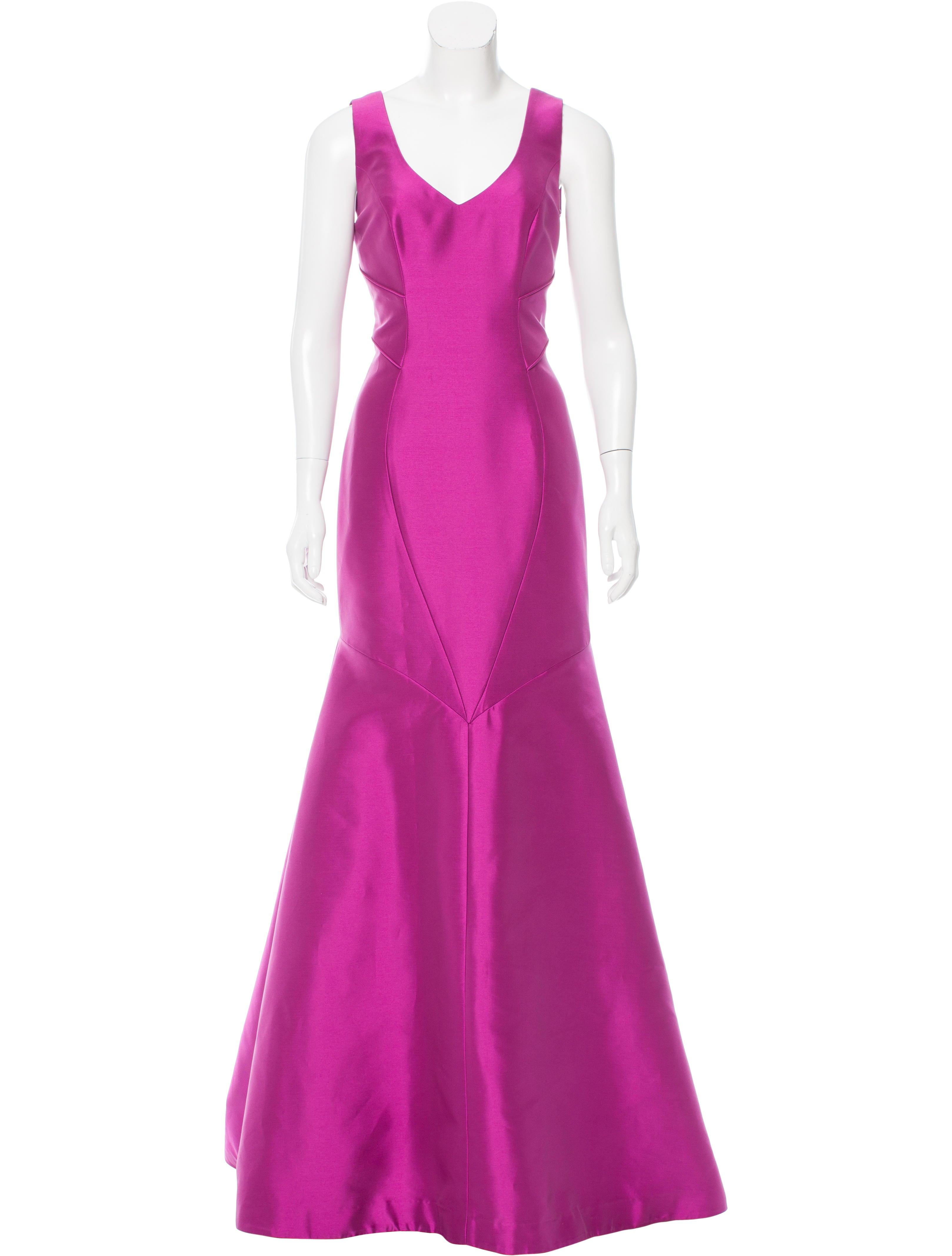 theia sleeveless mermaid gown w tags clothing