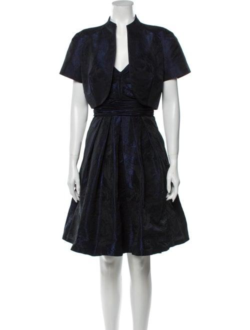 Theia Dress Set Blue - image 1