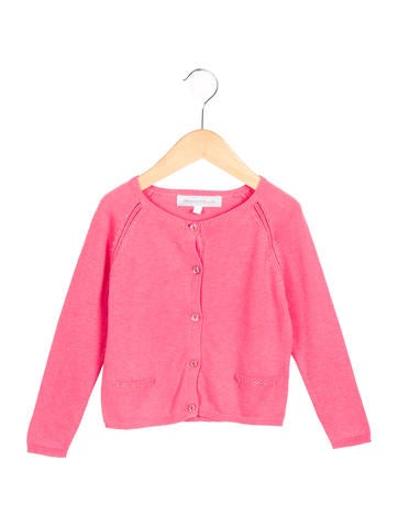 Tartine et Chocolat Girls' Embellished Knit Cardigan w/ Tags None
