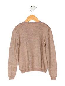 Tutu De Monde Girls' Merino Wool Knit Cardigan