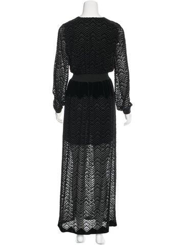 Velvet Evening Dress