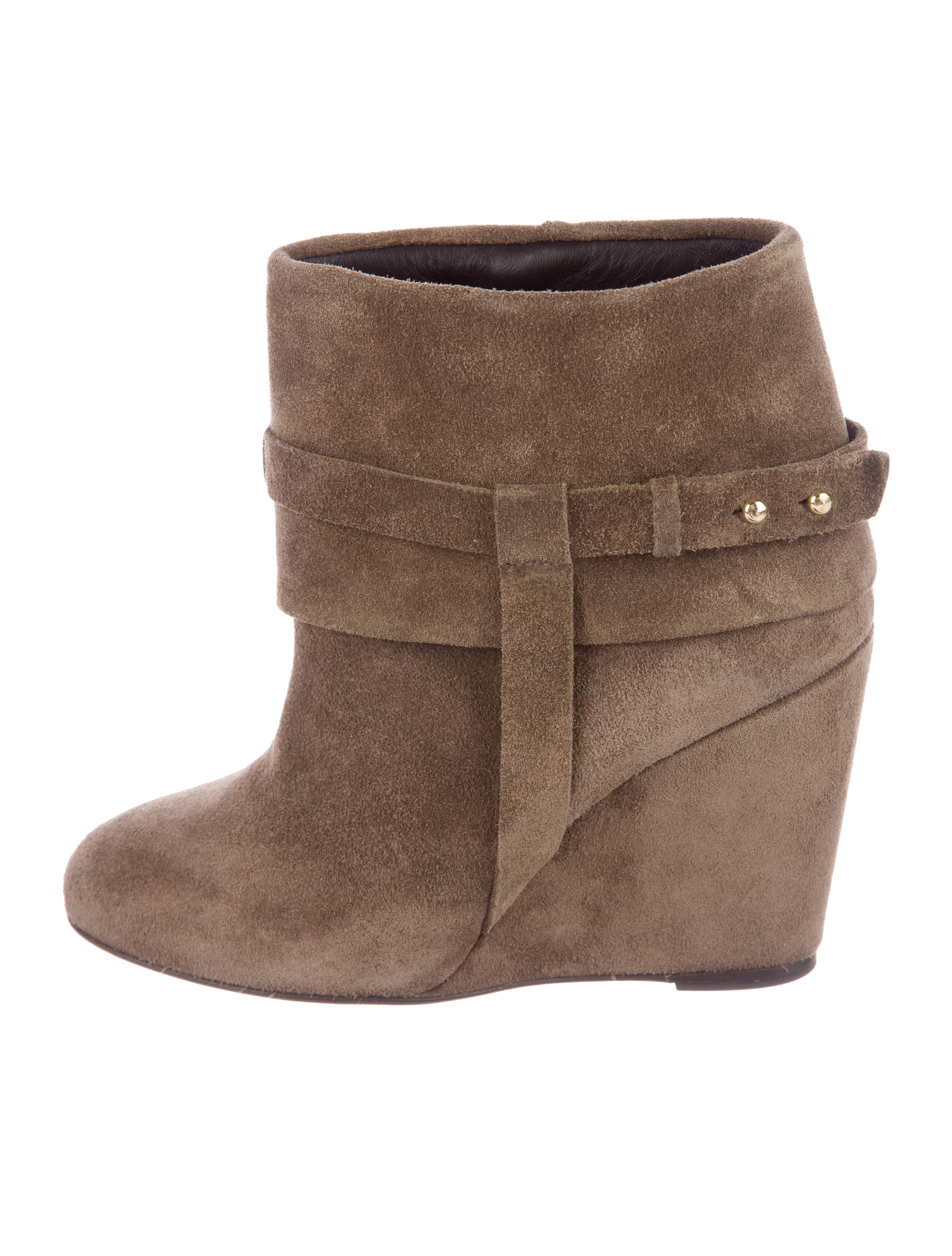 Tila March Suede Wedge Boots discount official wiki online buy cheap best seller many kinds of KFvm6Fk3v