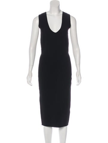 TY-LR Sleeveless Bodycon Dress None
