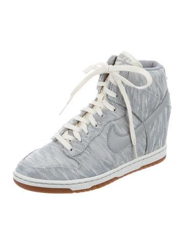 Jacquard Dunk Sky Hi Sneakers