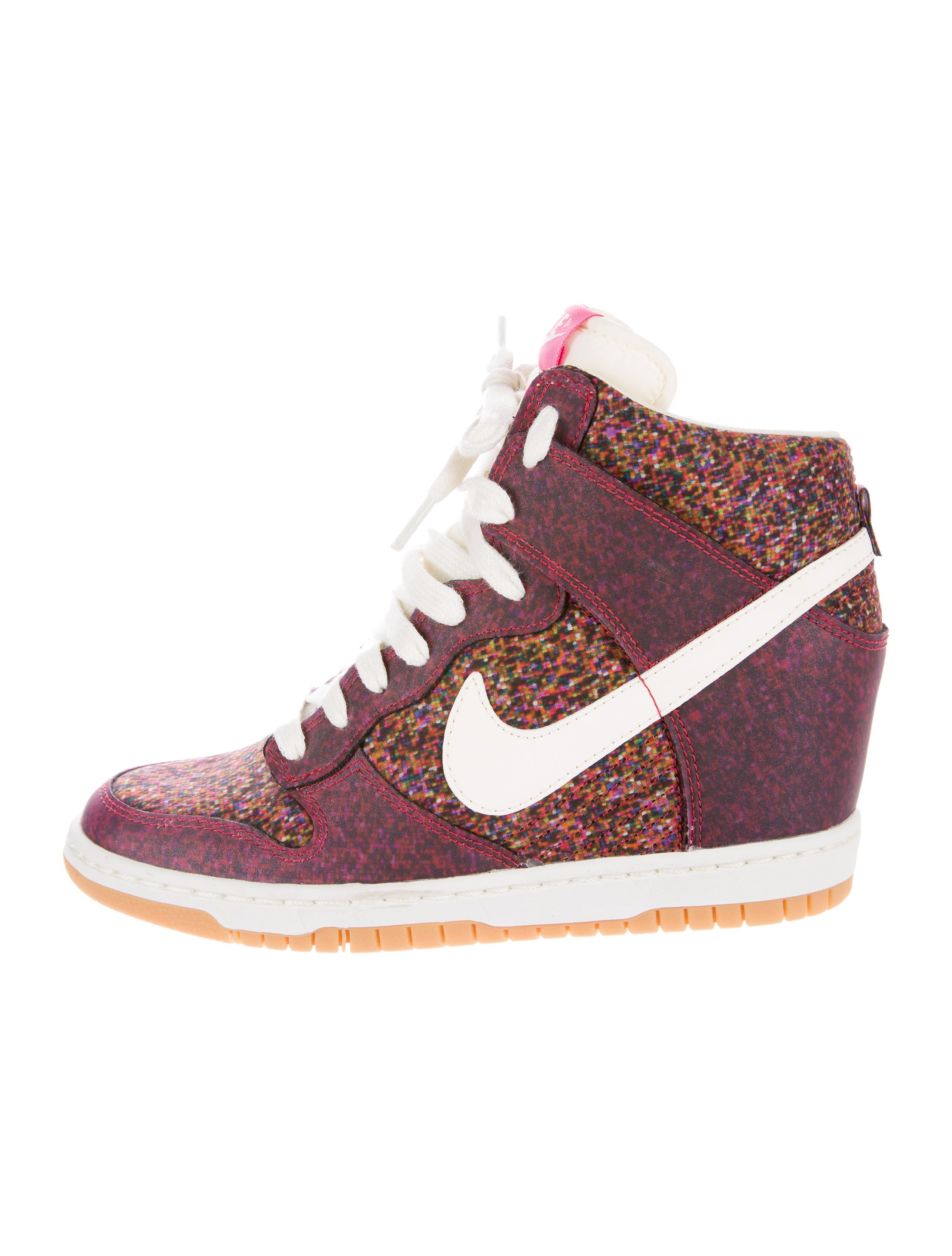 f28e40f3e10a ... essential wedge sneaker in blue 8b076 cf70d  50% off nike dunk sky hi  liberty sneakers w tags 2abda 74da4
