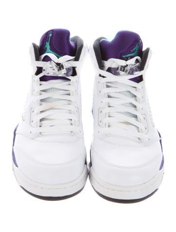 Air Jordan 5 Retro Grapes Sneakers