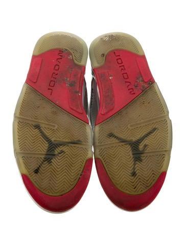 Air Jordan 5 Retro Fire Red Sneakers