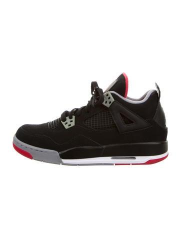 Nike Boys' Air Jordan 4 Retro Sneakers None