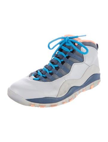 Air Jordan 10 Retro Bobcats Sneakers