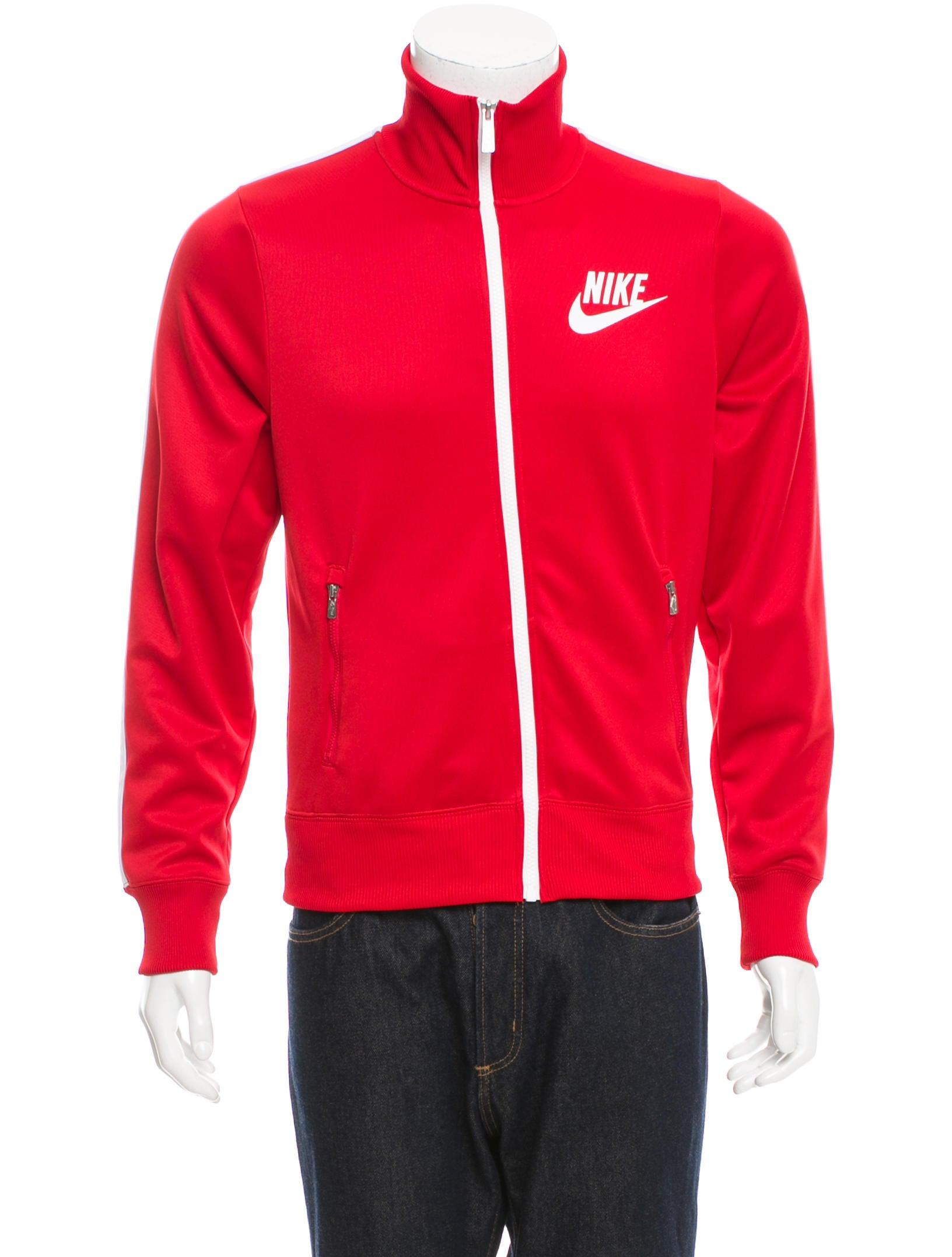 Nike Logo Track Jacket - Clothing - WU221026 | The RealReal