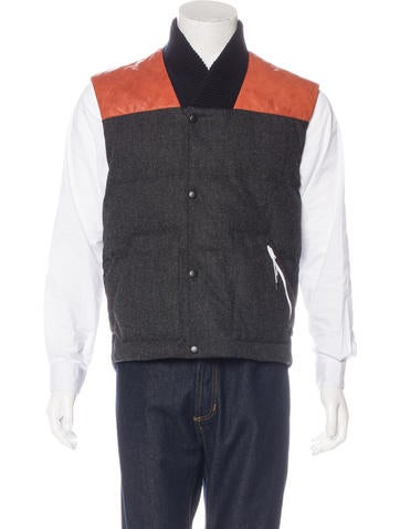 Nike Wool Puffer Vest None