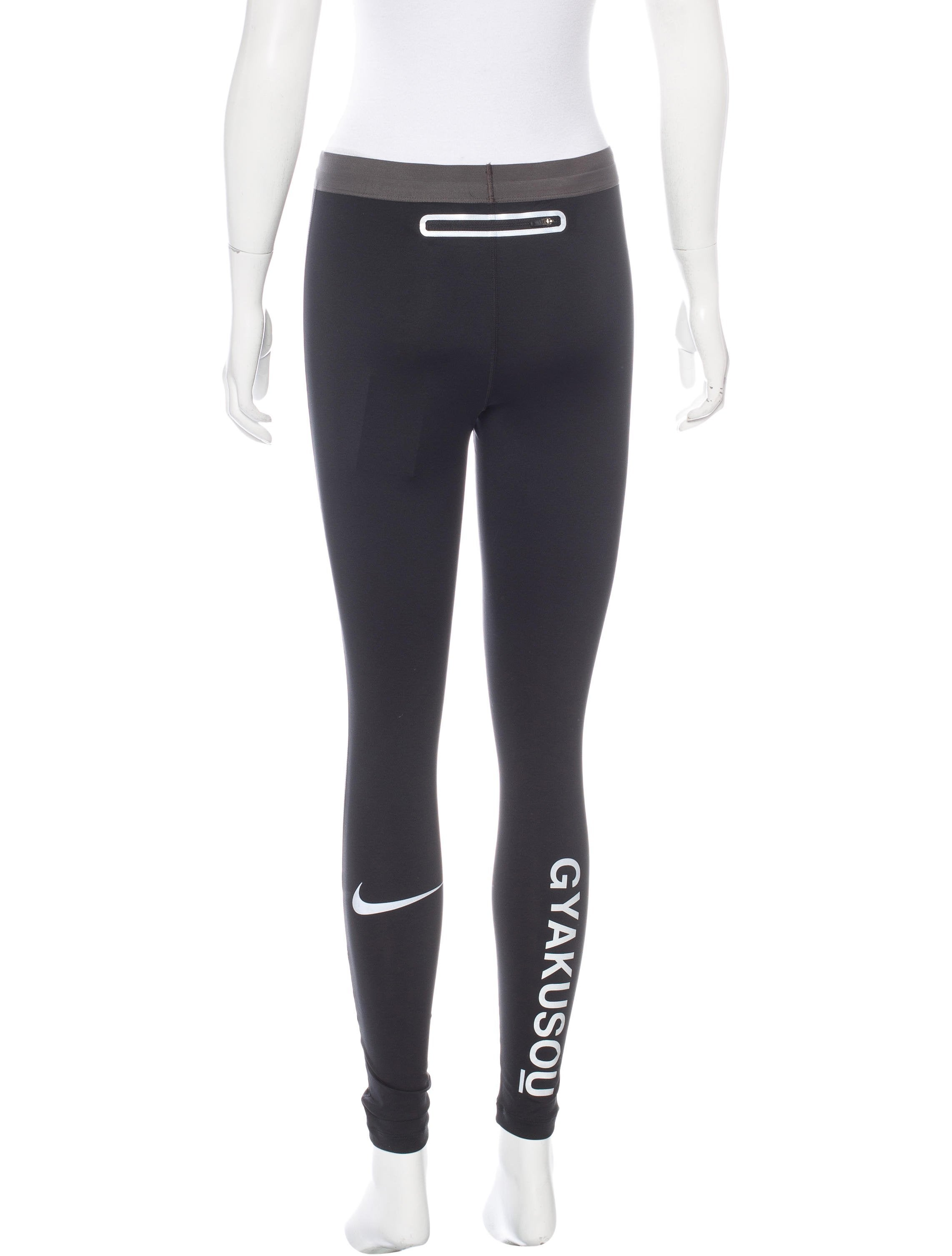 Nike Cropped Leggings - Clothing - WU221105   The RealReal